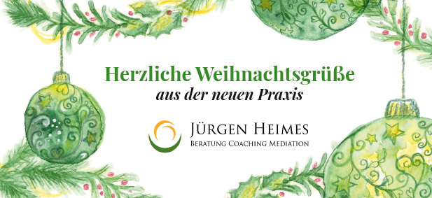 Familiäre Weihnachtsgrüße.Coaching Newsletter Dezember 2018